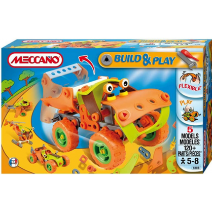 Конструктор Meccano Build&Play Набор «Самосвал» фото 6